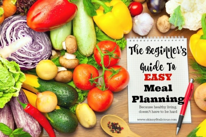 If making healthy changes to your diet is one of your goals and you're new to meal planning, then this Beginner's Guide To EASY Meal Planning is for you! Use these tips as your motivation to help you get started. and in under an hour, you'll have planned and shopped for your weekly meals like it's no big deal!