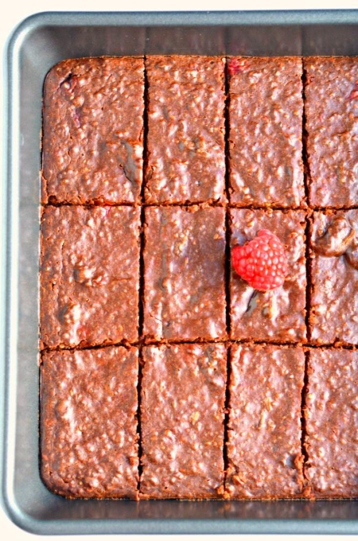 Raspberry Chocolate Quinoa Bars