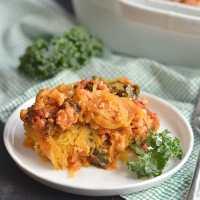 Spaghetti Squash Lasagna {GF, Low Cal, Paleo}