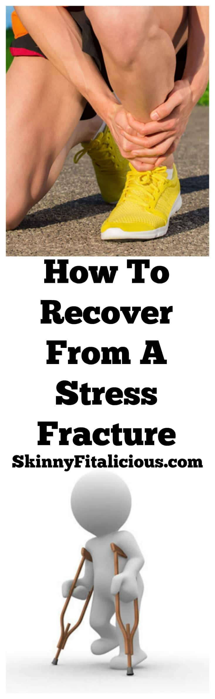 For those who've never dealt with a stress fracture it is frustrating. Here's how to recover from a stress fracture from someone who's recovered from many!