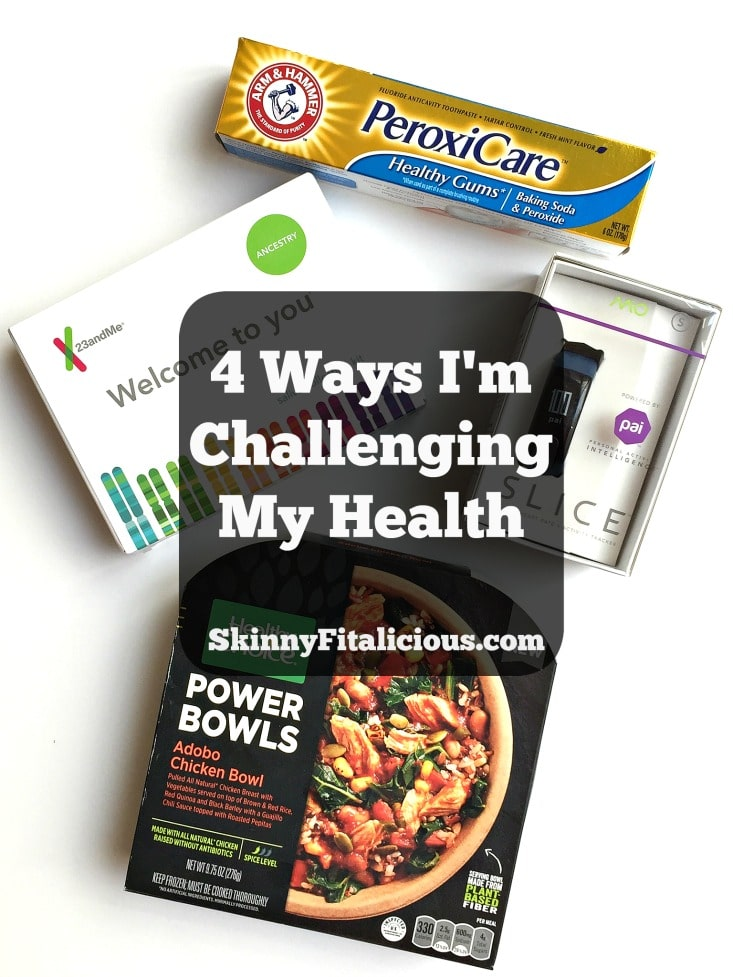 If you've been doing the same thing for a long time & not seeing change, then change how you're doing them. Here's 4 Ways I'm Challenging My Health in 2017!