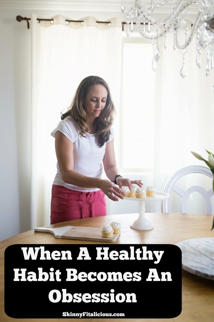 Everyone has a different relationship with food and exercise. Some take healthy to the extreme. Here's how to know when a healthy habit becomes obsessive.