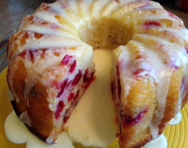 CRANBERRY ORANGE CAKE YUMMY