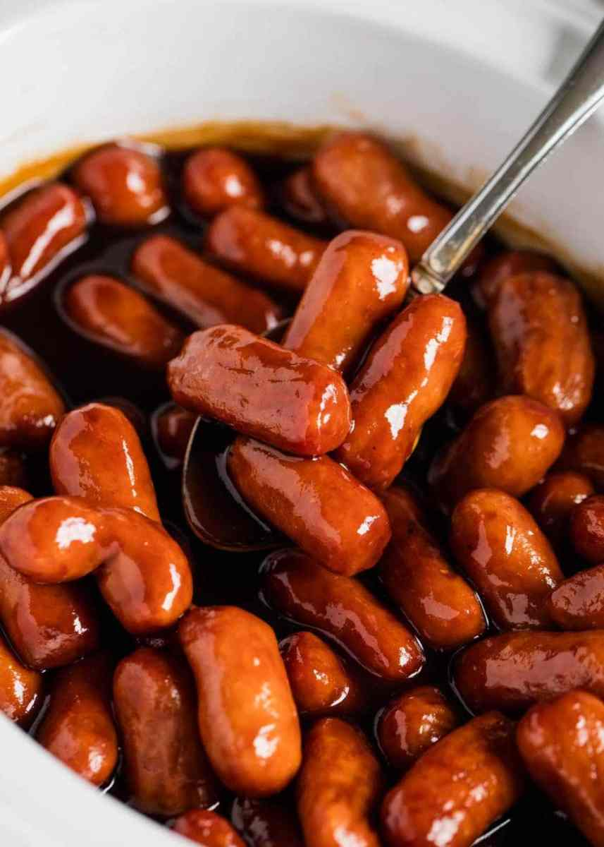4 Ingredient Crockpot Little Smokies