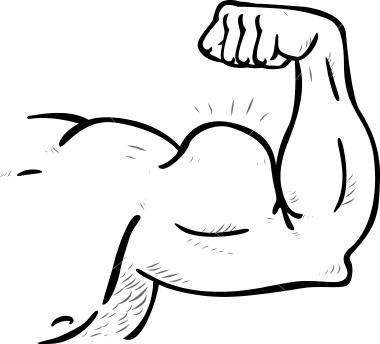 esaphbursio muscles of arm