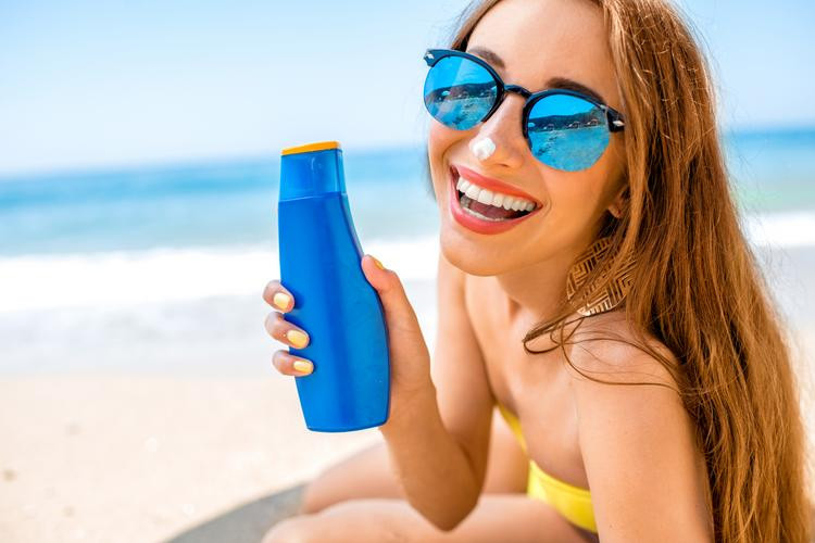Be sure to wear sunscreen to protect your skin!