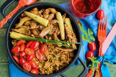 Easy One-Pot Chicken & Rice Dinner Recipe