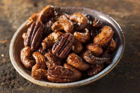 Chai-Spiced Candied Nuts