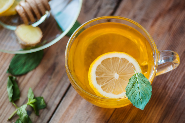 A delicious tea to detoxify and calm your nerves!