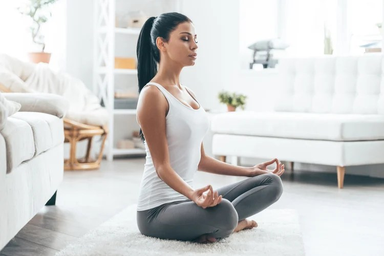 Meditation is an excellent way to calm yourself down and reduce stress.