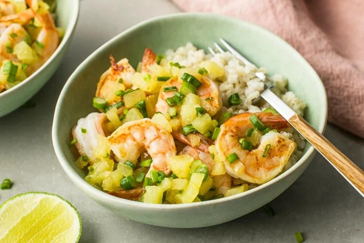 Pineapple Honey Shrimp Taco Bowl Get ready for the spring break with this 4 week meal plan