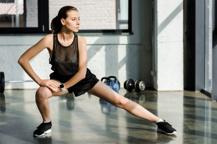 Moves to a leaner lower body
