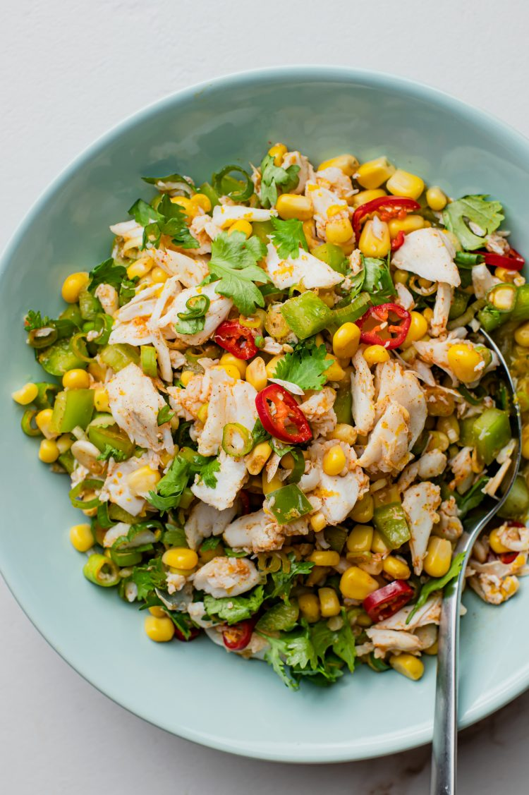 Sweet and spicy flavors combine to create a delicious salad recipe!