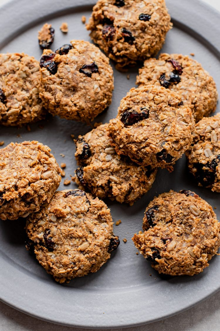 Indulge in this sweet, plant-based biscuit without feeling guilty