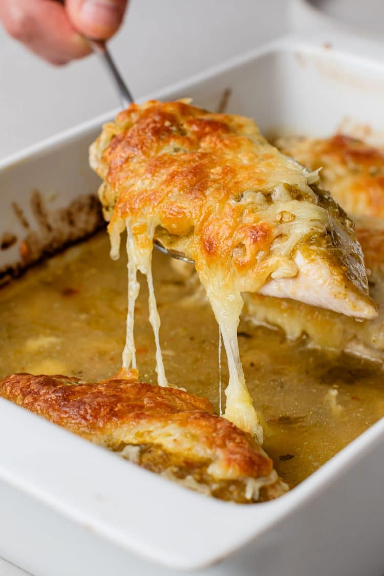 Chicken, cheese and delicious flavors make this dish a must!