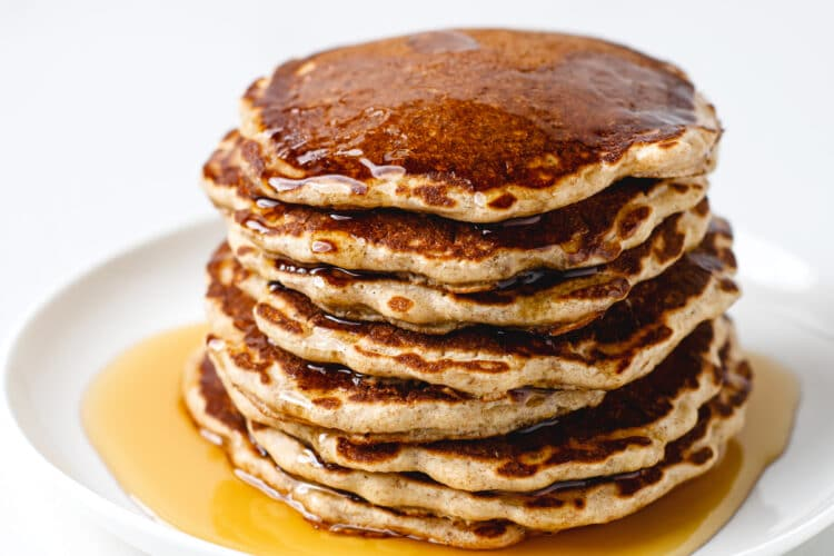 Browse Grandma's Classic Recipe For Old Fashioned Pancakes For Breakfast!