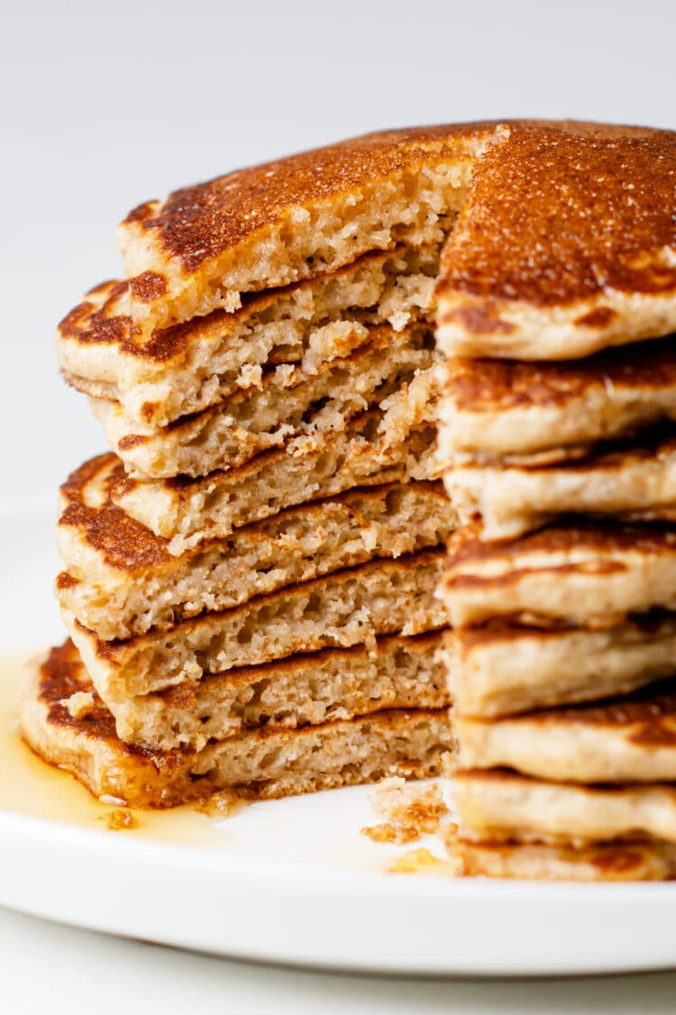 Tasty and sweet, these pancakes can be ready in minutes!