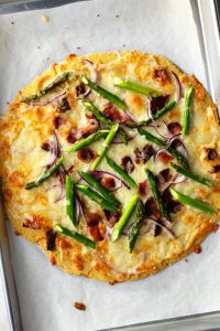 Make this light and delicious thin crust pizza for lunch or dinner!