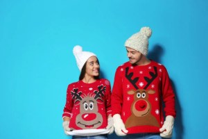 Have an Ugly Christmas Sweater Contest for your Virtual Party!