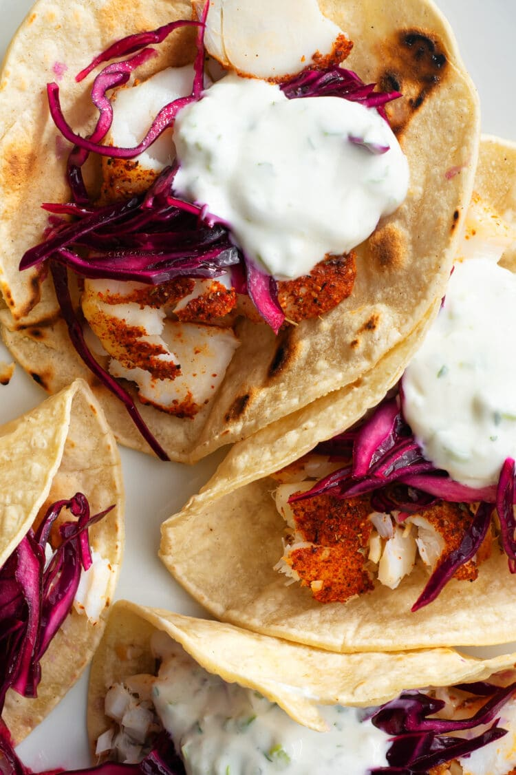 The wonderful aromas of these delicious fish tacos are sure to delight the whole family.