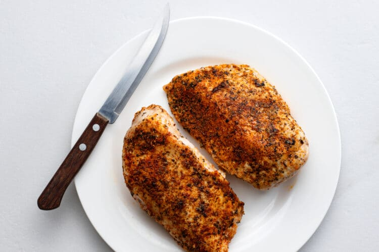 This air fried chicken is a quick and easy protein option when you're short on time.