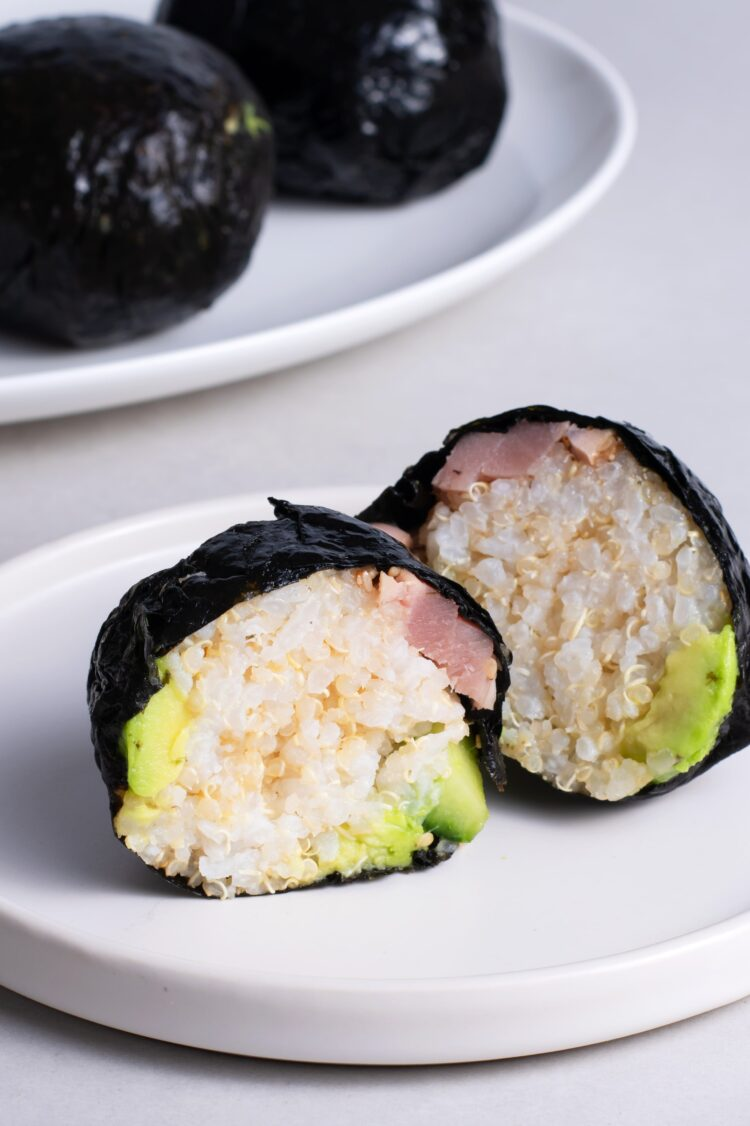 These cute little sushi balls are a fun change from dinner.