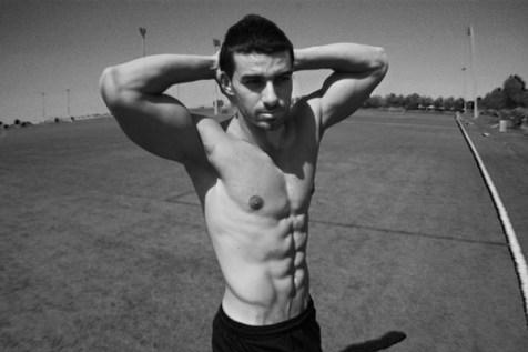 Ahmed Saleh black and white