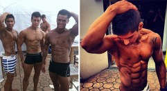 Tom Imanishi at Australian bodybuilding competition