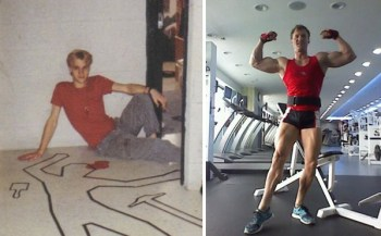 Christopher Maslon body transformation