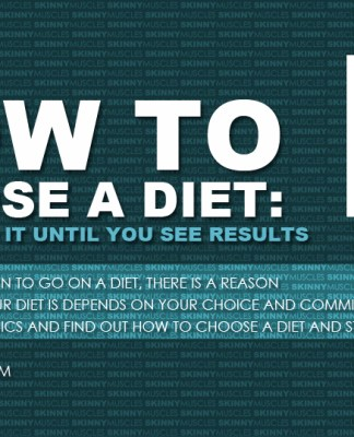 How to choose a diet and stick to it until you see results