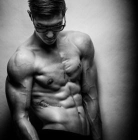 Benjamin Cardel posing with shades