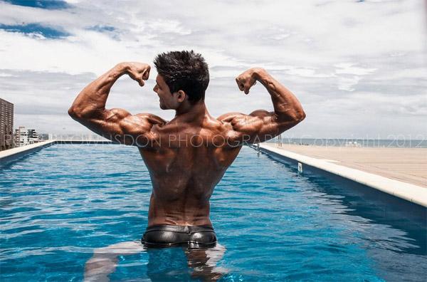 Johnny Starr - fitness model from Melbourne, Australia