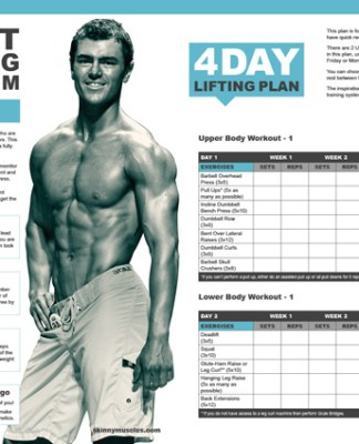 advanced 6 day split gym workout routine