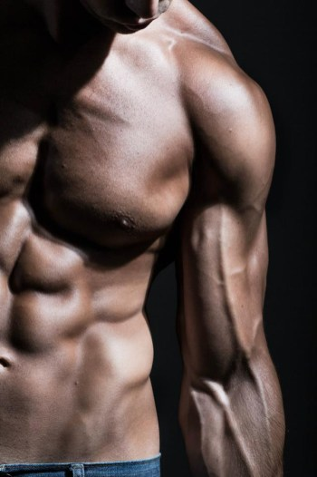Omar El Sheikh muscles