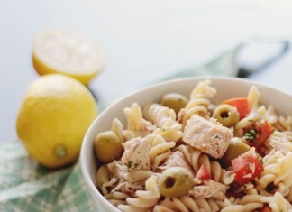 Pasta with tuna – easy muscle building food recipe
