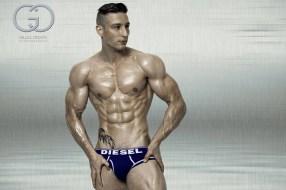 Fitness model Lee Hamilton
