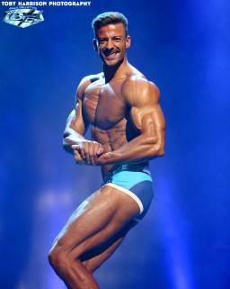 Daniel Hammaecher competing