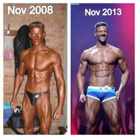 Daniel Hammaecher body transformation progress