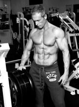 Philip J. Hoffman at gym