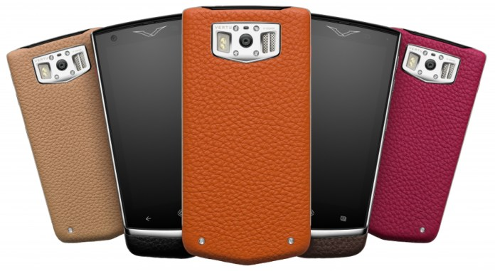 The Vertu Constellation range. Phone: vertu.com