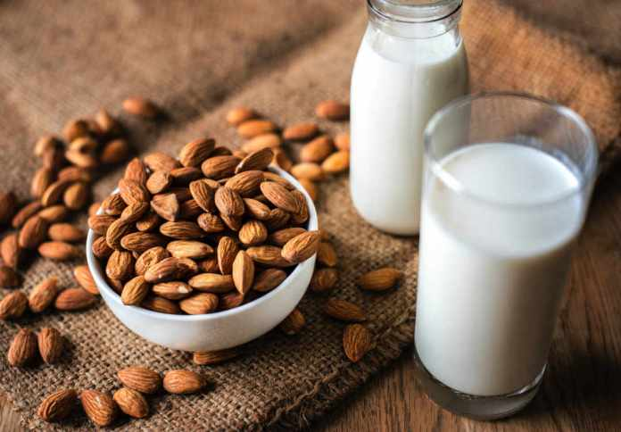 almonds, vegetarian protein sources