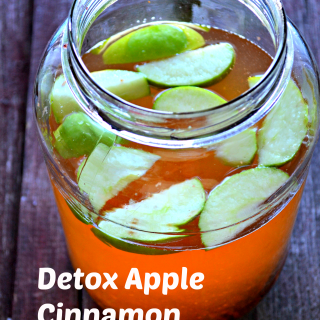 How To Make Apple Cinnamon Detox Water Recipe