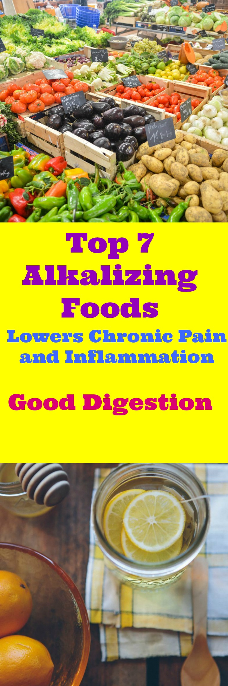 Top 7 Alkalizing Foods to include in your diet. An Alkaline Diet is wonderful for weight loss. The body needs additional health and fitness needs as well.