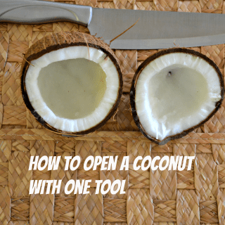 How To Open a Coconut with One Tool