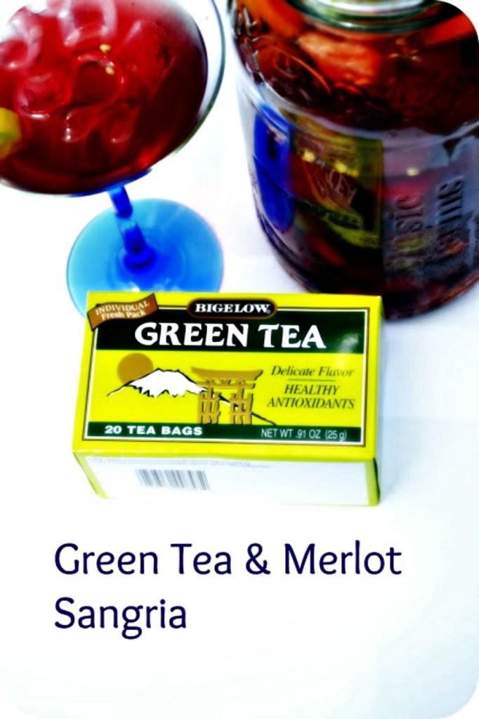 Green Tea Sangria