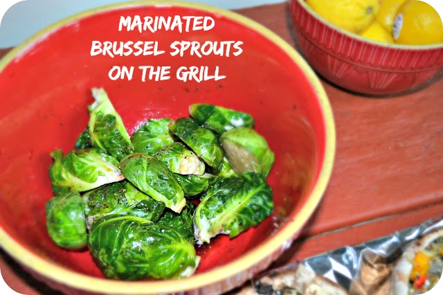 Marinated Brussel Sprouts