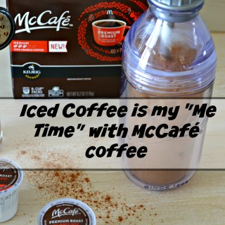 My Me Time With McCafé Coffee