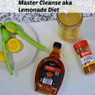 Master Cleanse aka Lemonade Diet
