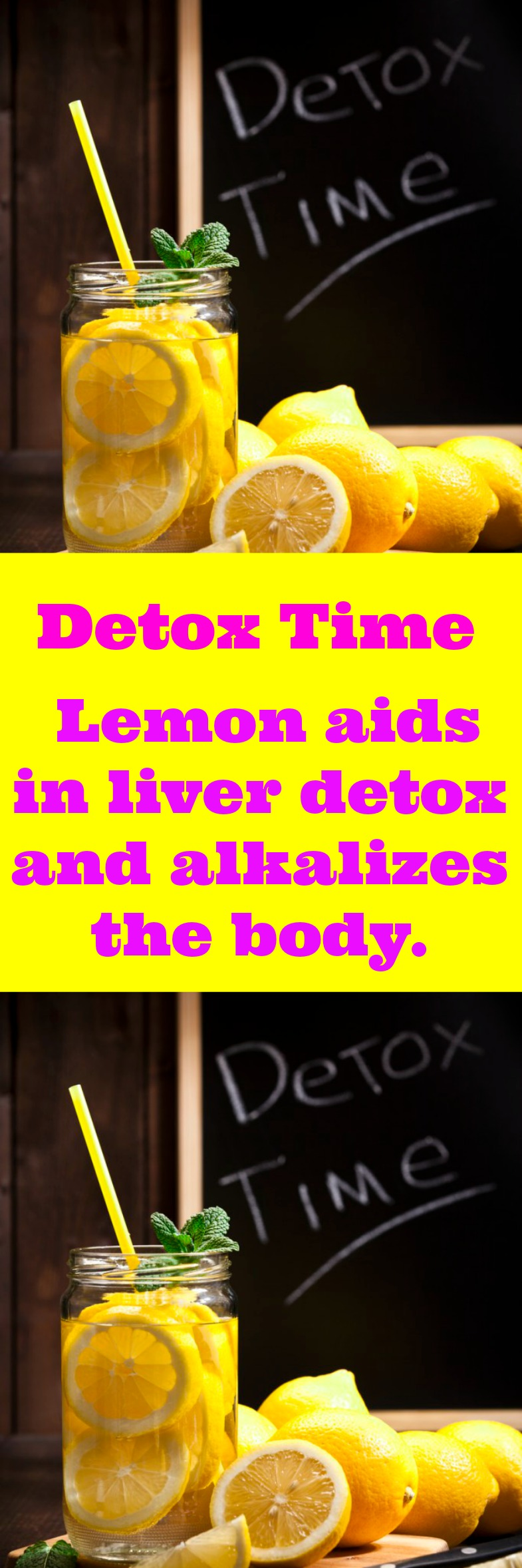 Lemon Mint Detox drink for weightloss and to reduce bloating. Lemon aids in liver detox and alkalizes the body.