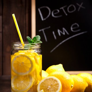 Drink Lemon Mint Detox Water